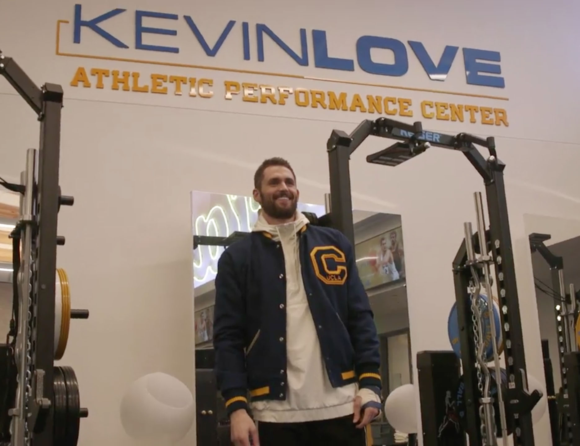 c2f970370b59 Cavaliers Star Kevin Love Tours UCLA Performance Center Named in His ...