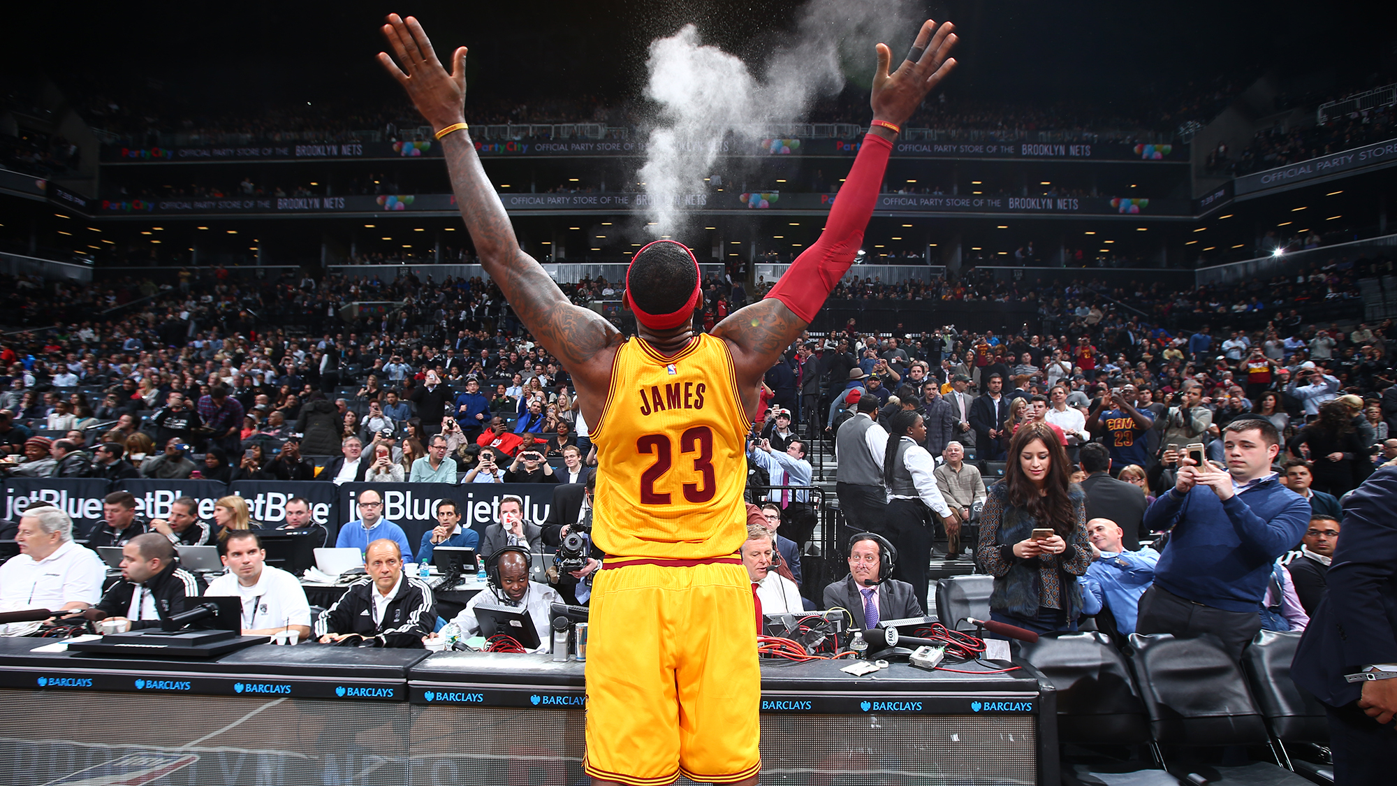 Image result for lebron powder