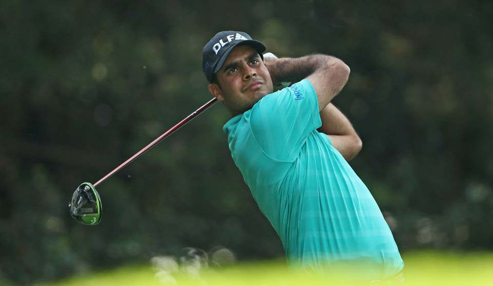 Shubhankar Sharma leads by two shots after 36 holes in his first WGC event in Mexico.