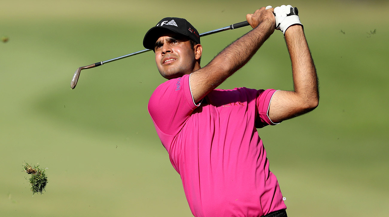 Shubhankar Sharma leads in Mexico, but he has a strong group of players chasing him.