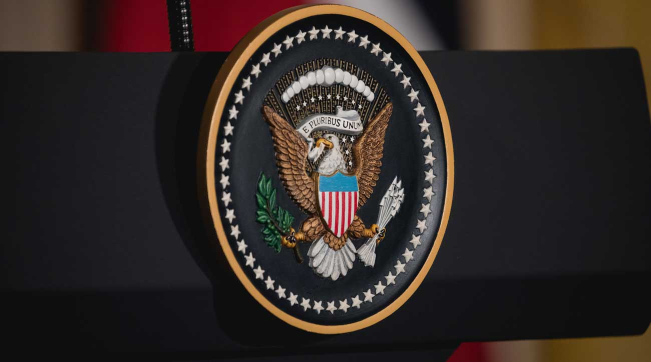 The potential use of the presidential seal on Trump International tee markers has caught the attention of governmental watchdogs.