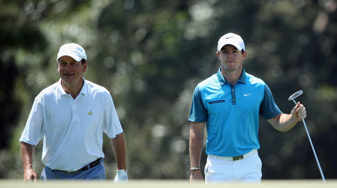 In 2014, Jeff Knox beat McIlroy when the two were paired together during the Masters.