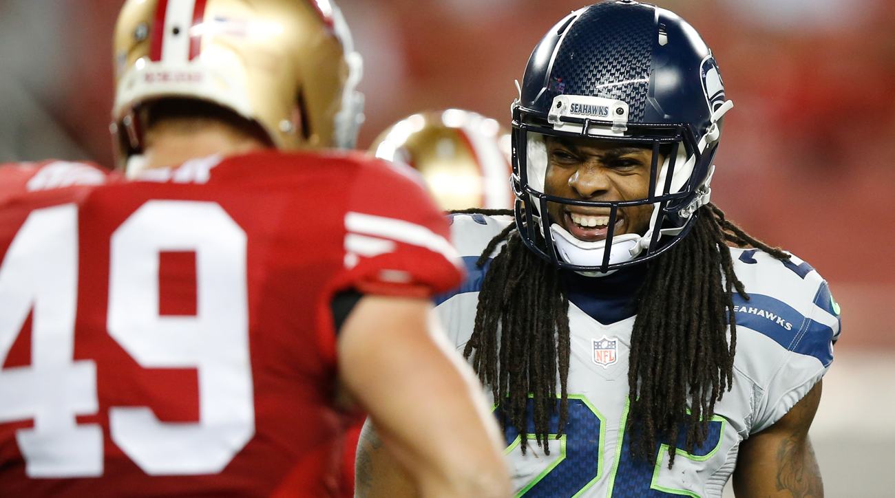 best website 6a253 c2f65 Inside the Richard Sherman-49ers Contract Negotations | SI.com