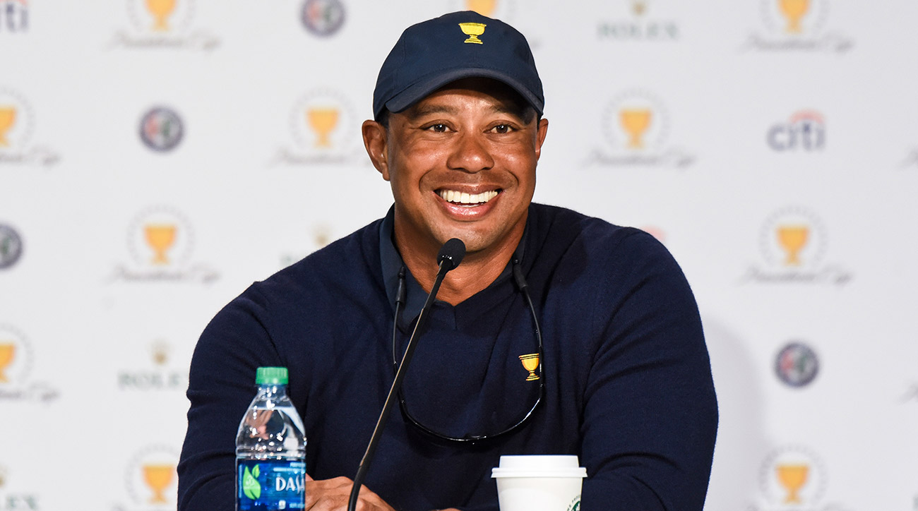Tiger Woods was an assistant captain at the 2017 Presidents Cup