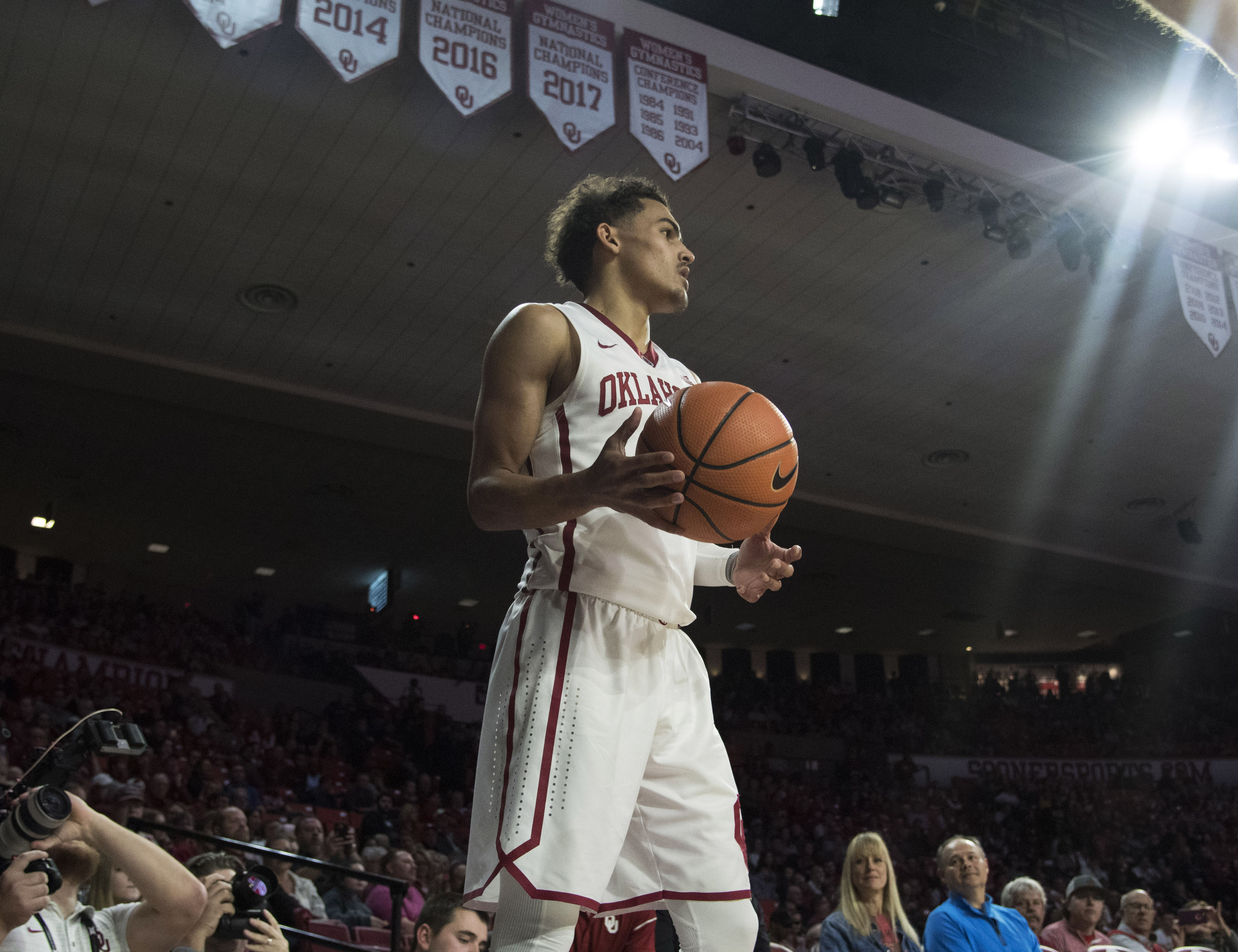 Oklahoma earns a No. 10 seed, will play Rhode Island