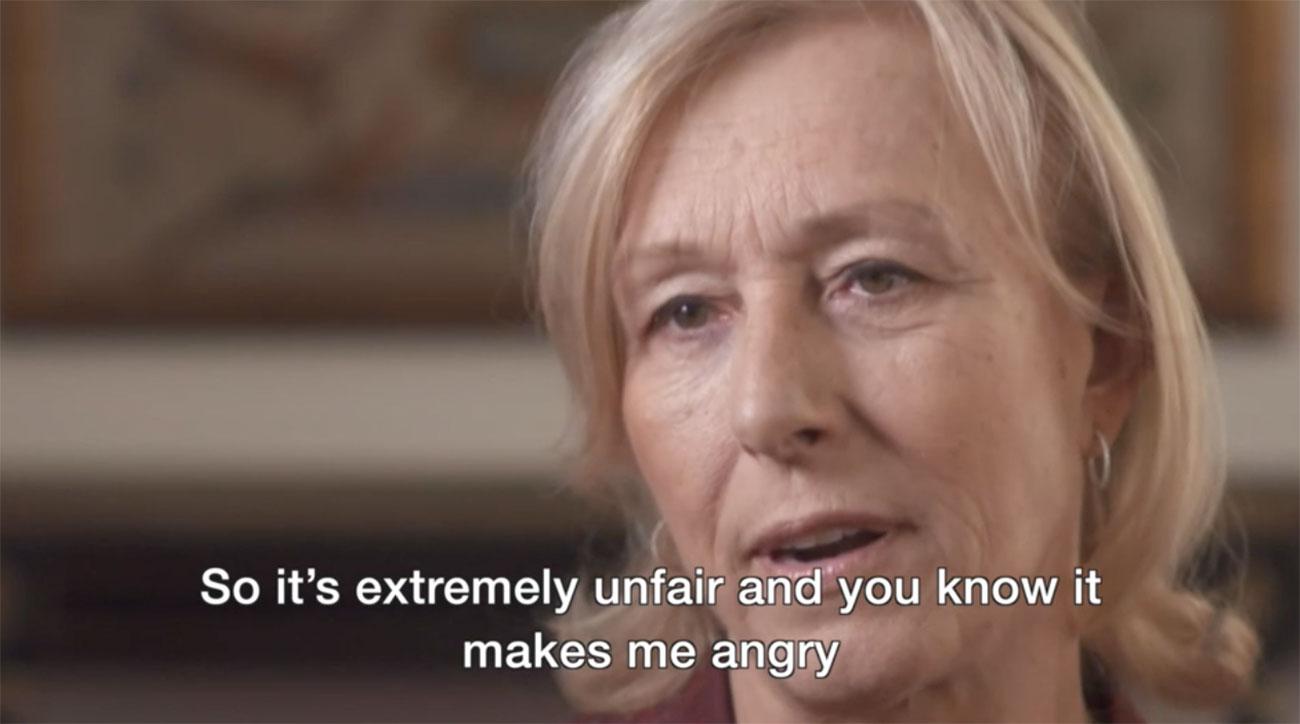Martina Navratilova Says BBC Pays John McEnroe 10 Times More Than Her for Wimbledon Coverage
