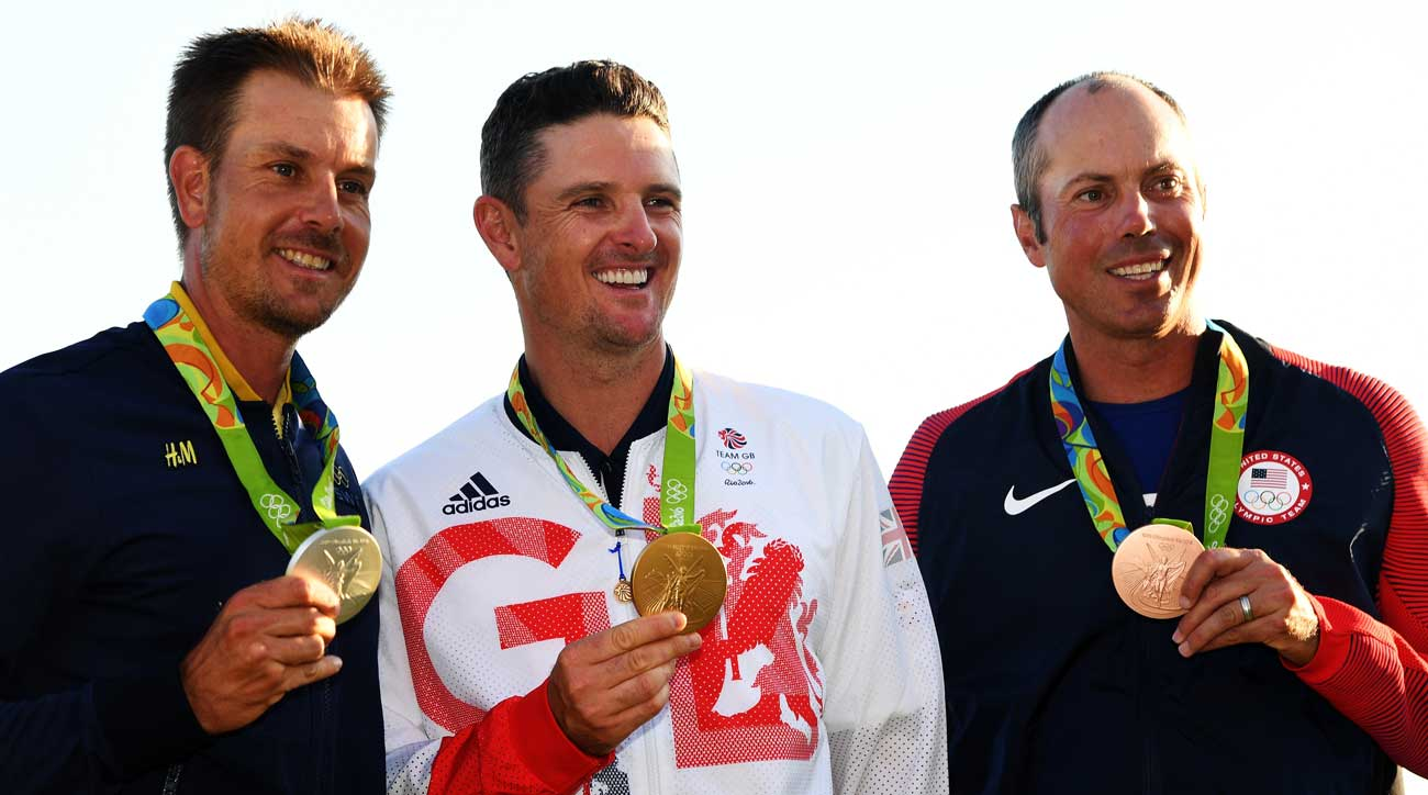Stenson, Rose and Kuchar made it onto the podium in Rio in 2016.