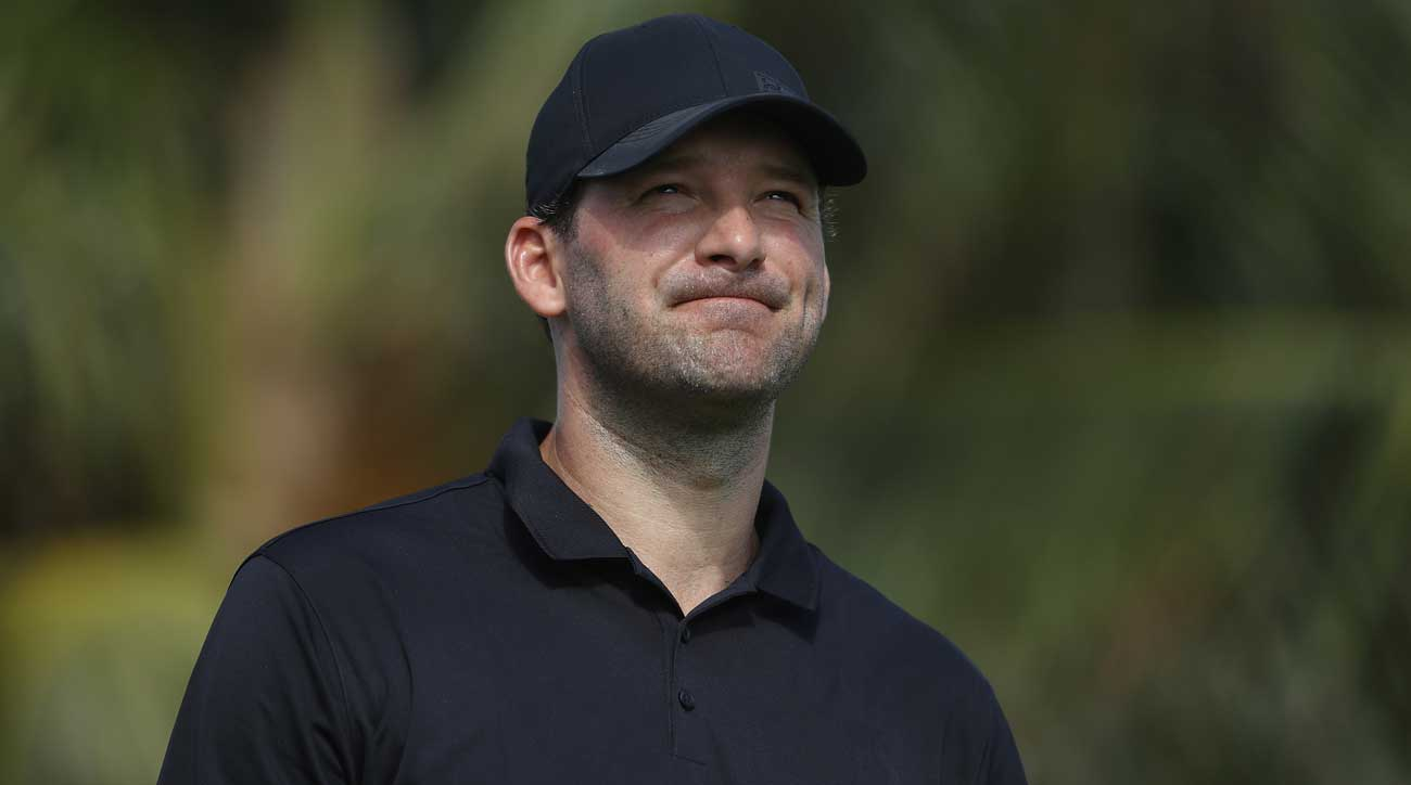 Tony Romo Made His PGA Tour Debut Today