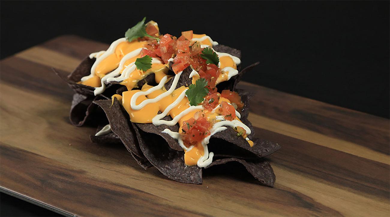 rays sunburst nachos
