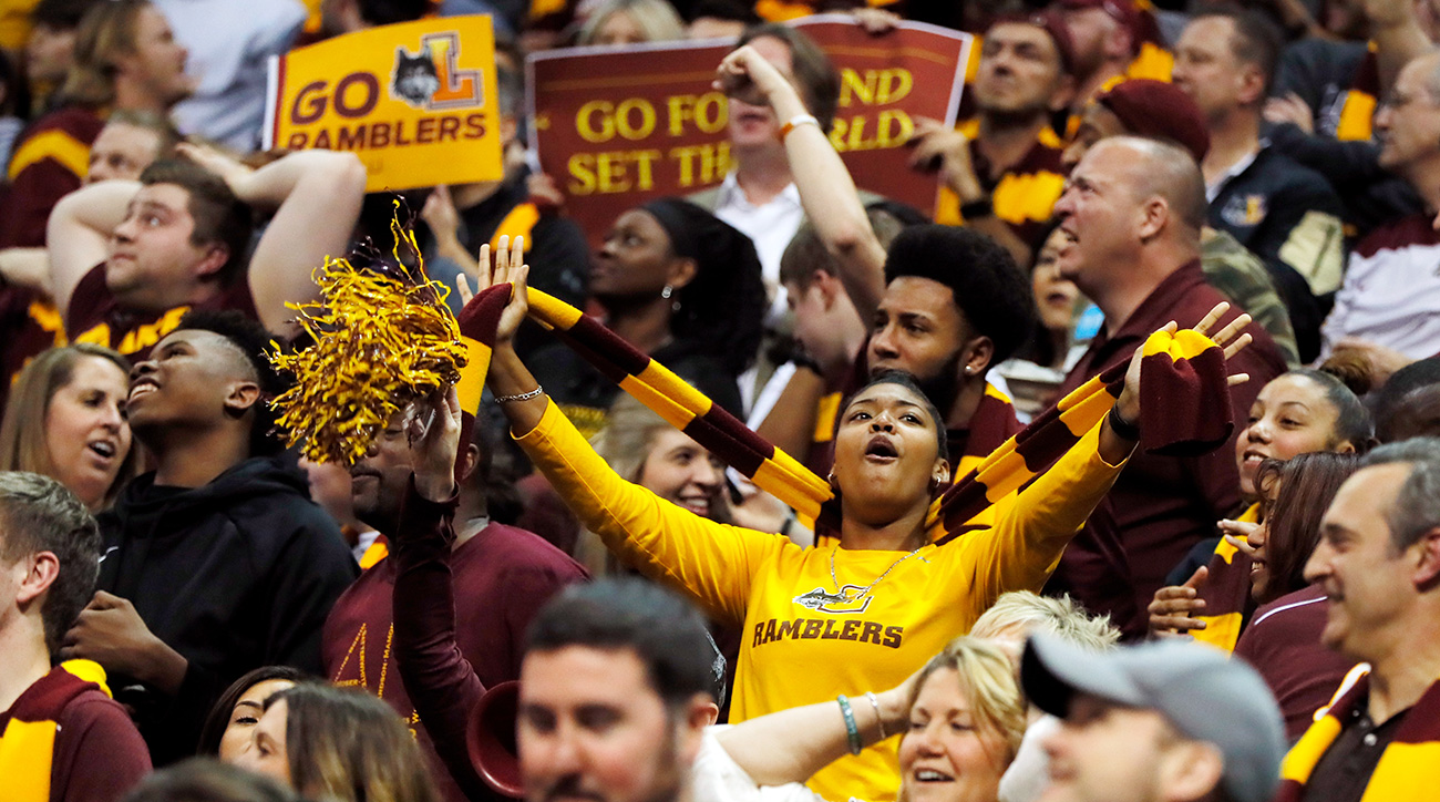 Loyola-Chicago: Ramblers gaining fans with March Madness run