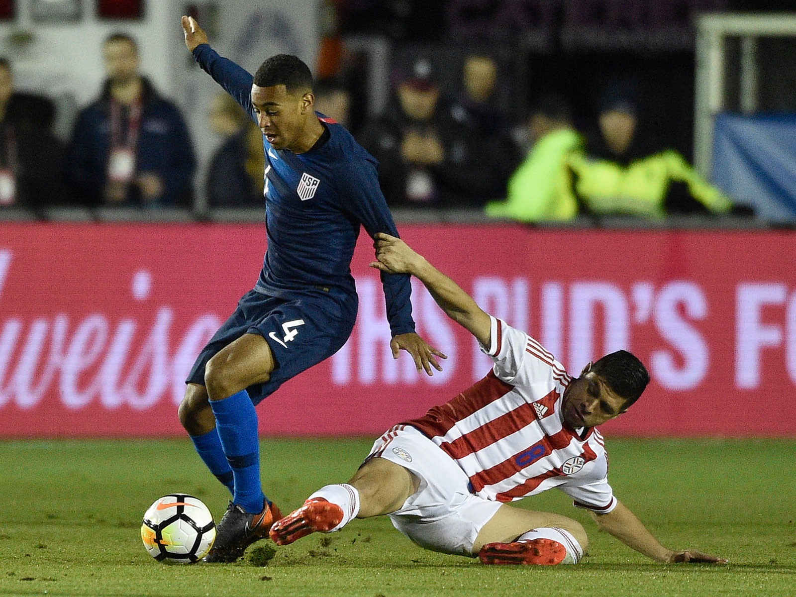 Tyler Adams stars for the USA vs. Paraguay in a friendly