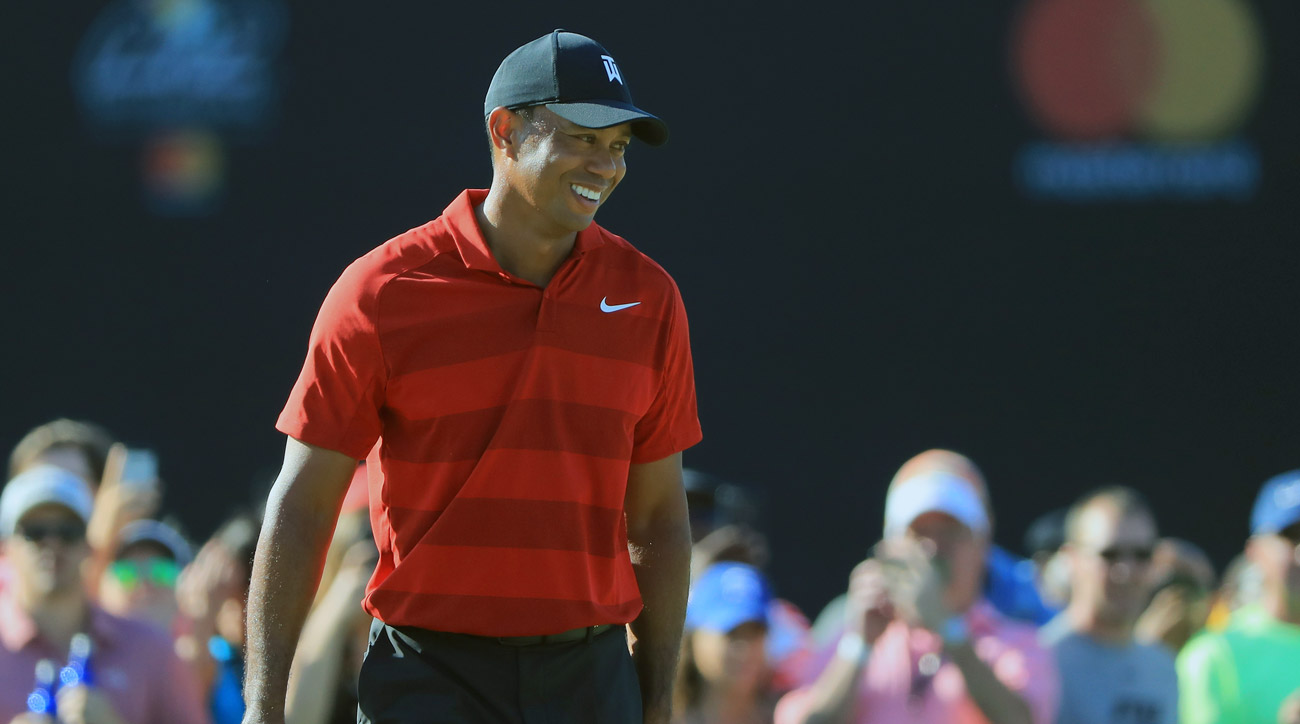 Tiger Woods during the final round of the 2018 Arnold Palmer Invitational at Bay Hill.