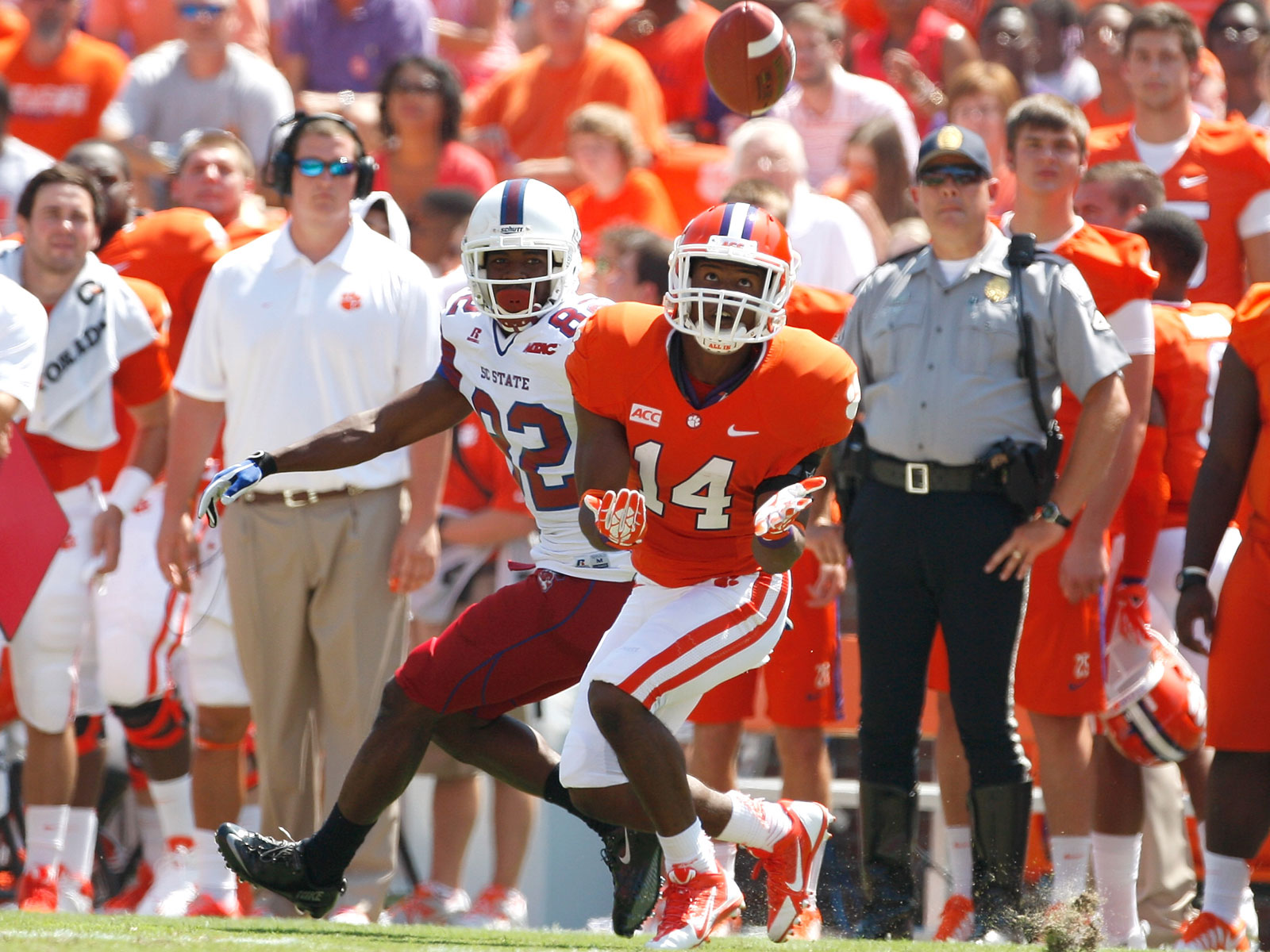 Martin Jenkins played defensive back for Clemson