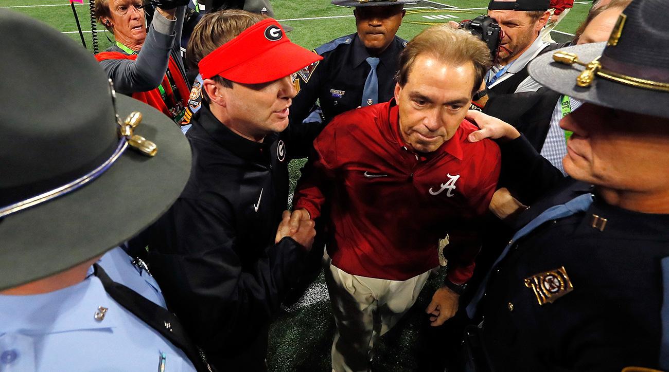Nick Saban, Kirby Smart have Alabama, Georgia atop college football with discipline