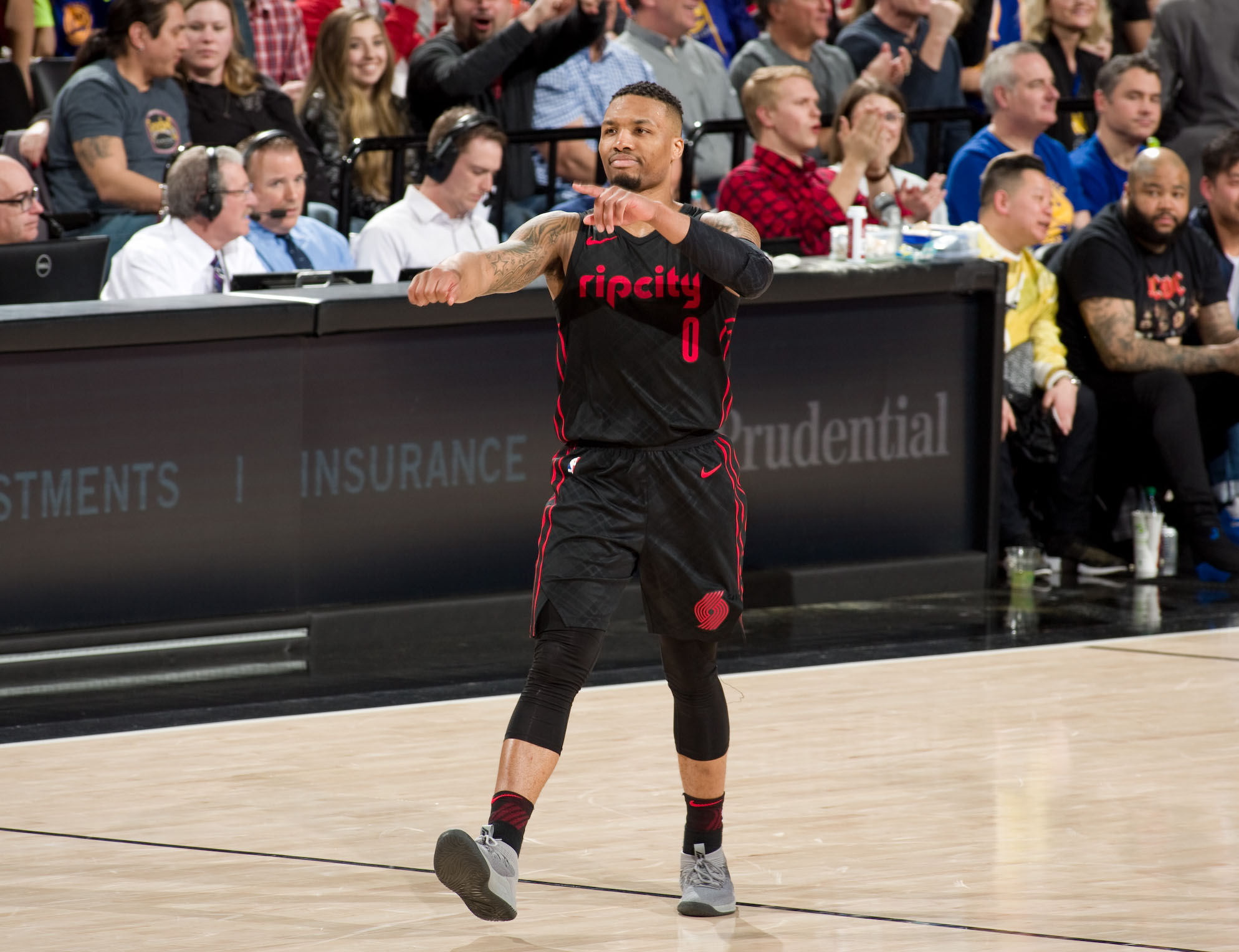 4bb5abd1069a Damian Lillard  The Blazers Star Has Redefined  Dame Time