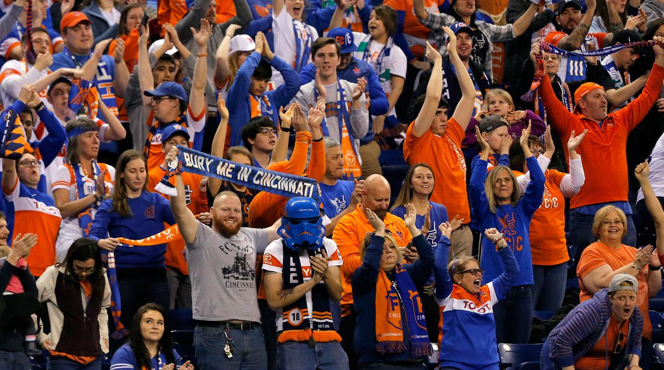 Cincinnati is hoping to land an MLS expansion team
