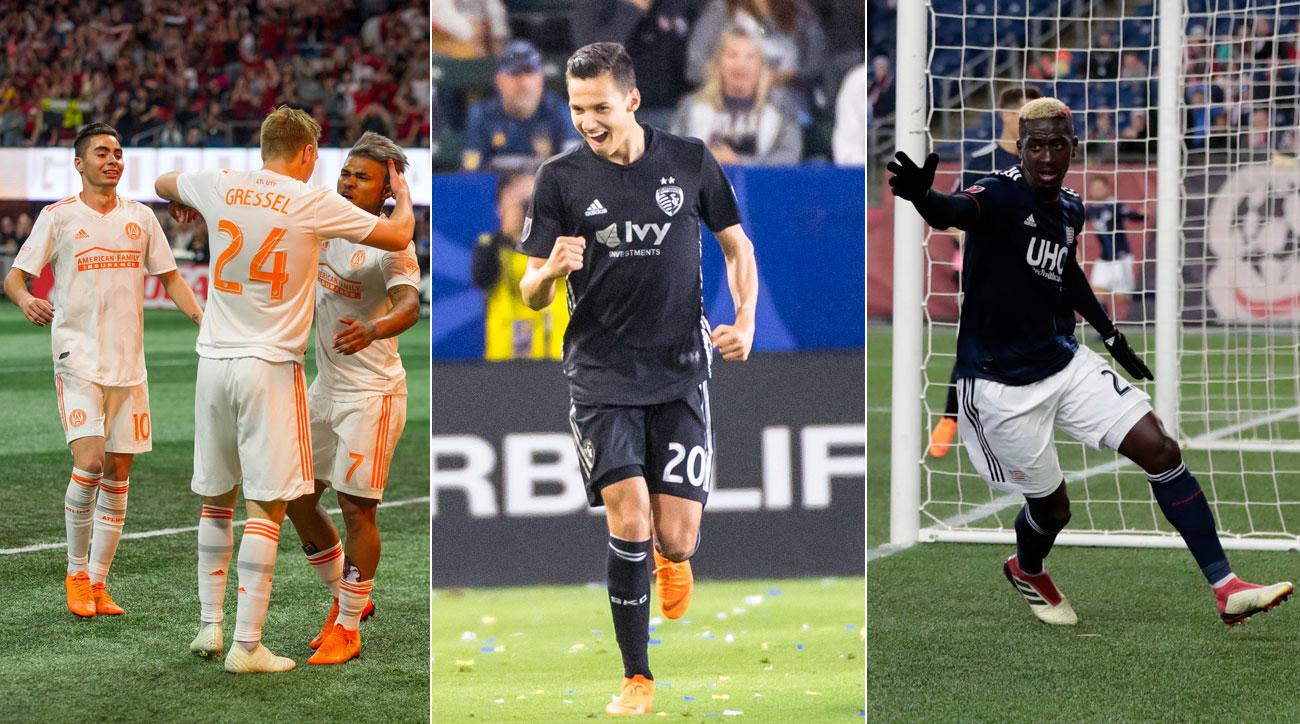 Atlanta United, Sporting Kansas City and the New England Revolution all won big in MLS Week 6