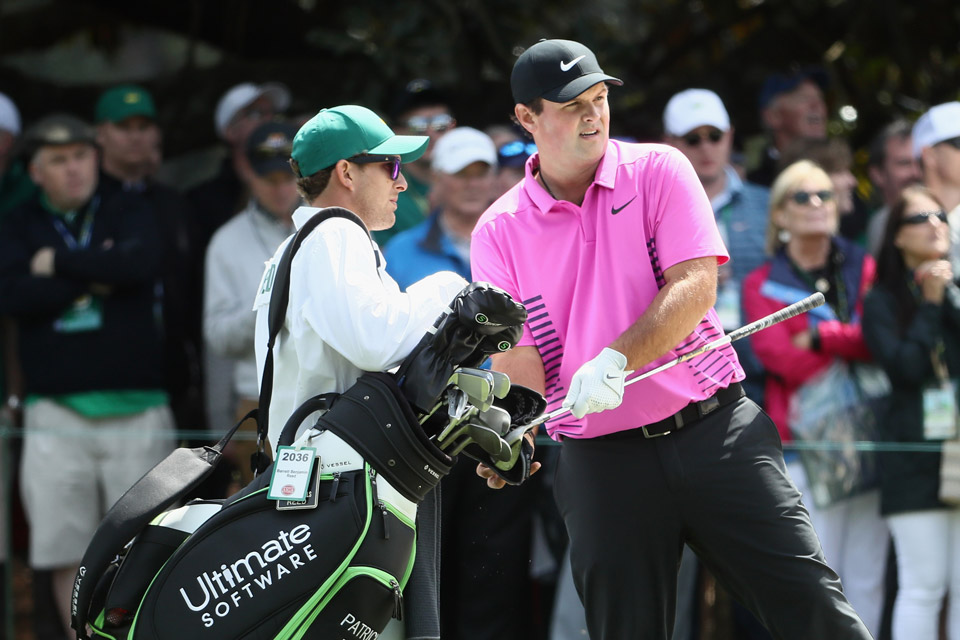 Patrick Reed is backed by Nike, Ultimate Software and Hublot, but he doesn't currently have a club sponsor.