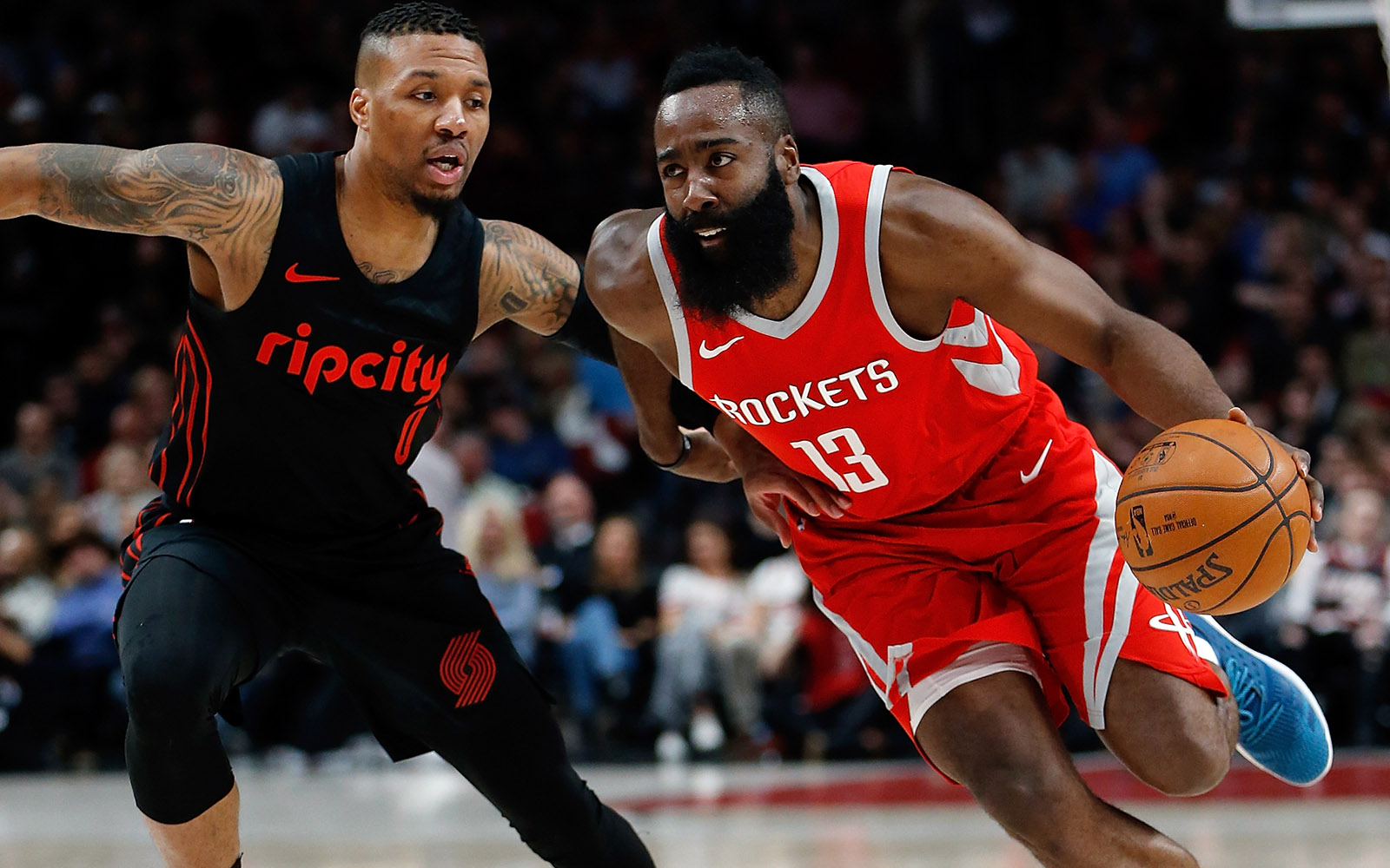 Damian Lillard and James Harden