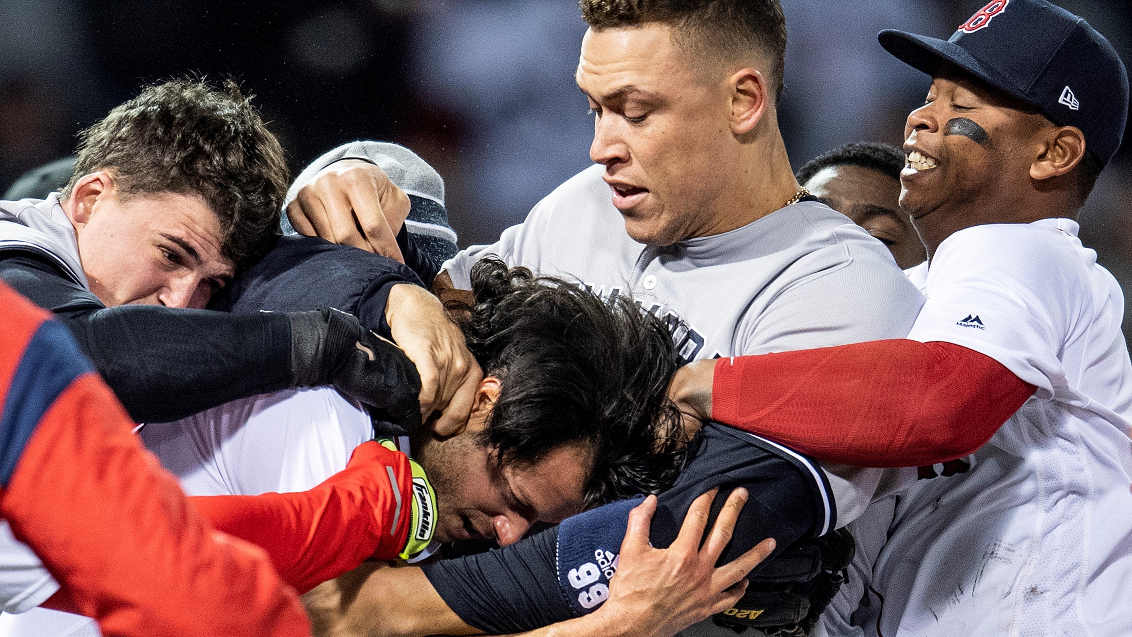 Hot Clicks: Yankees-Red Sox, Rockies-Padres brawls (video)