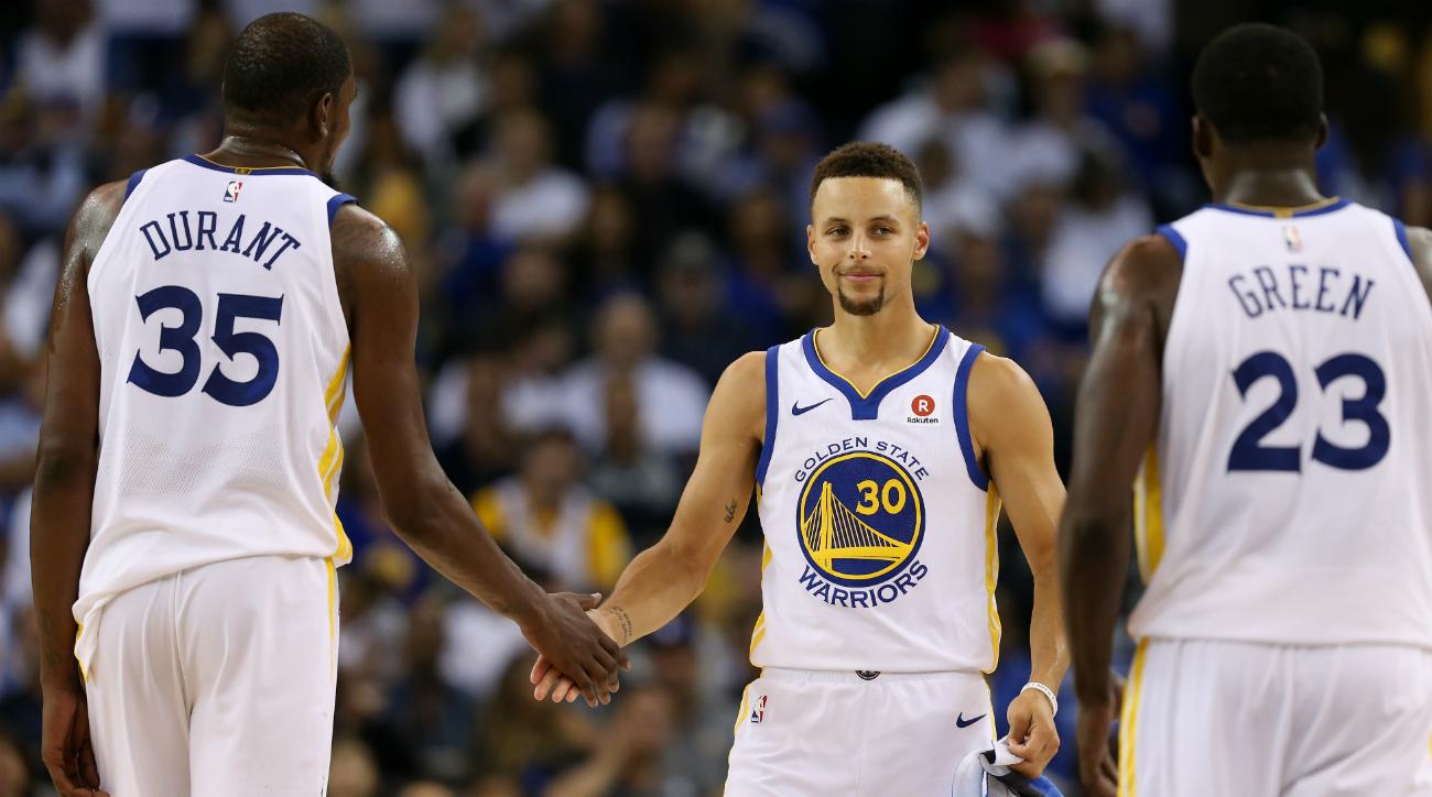 The Latest: Wolves get Rockets, Spurs to meet Warriors