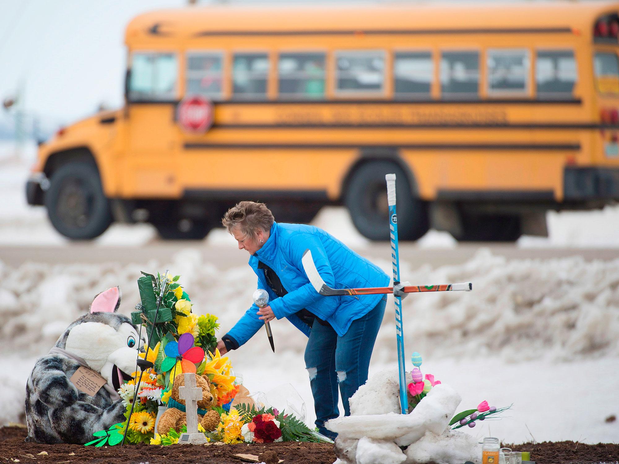 Humboldt Crash A Tiny Town Tries To Cope Through