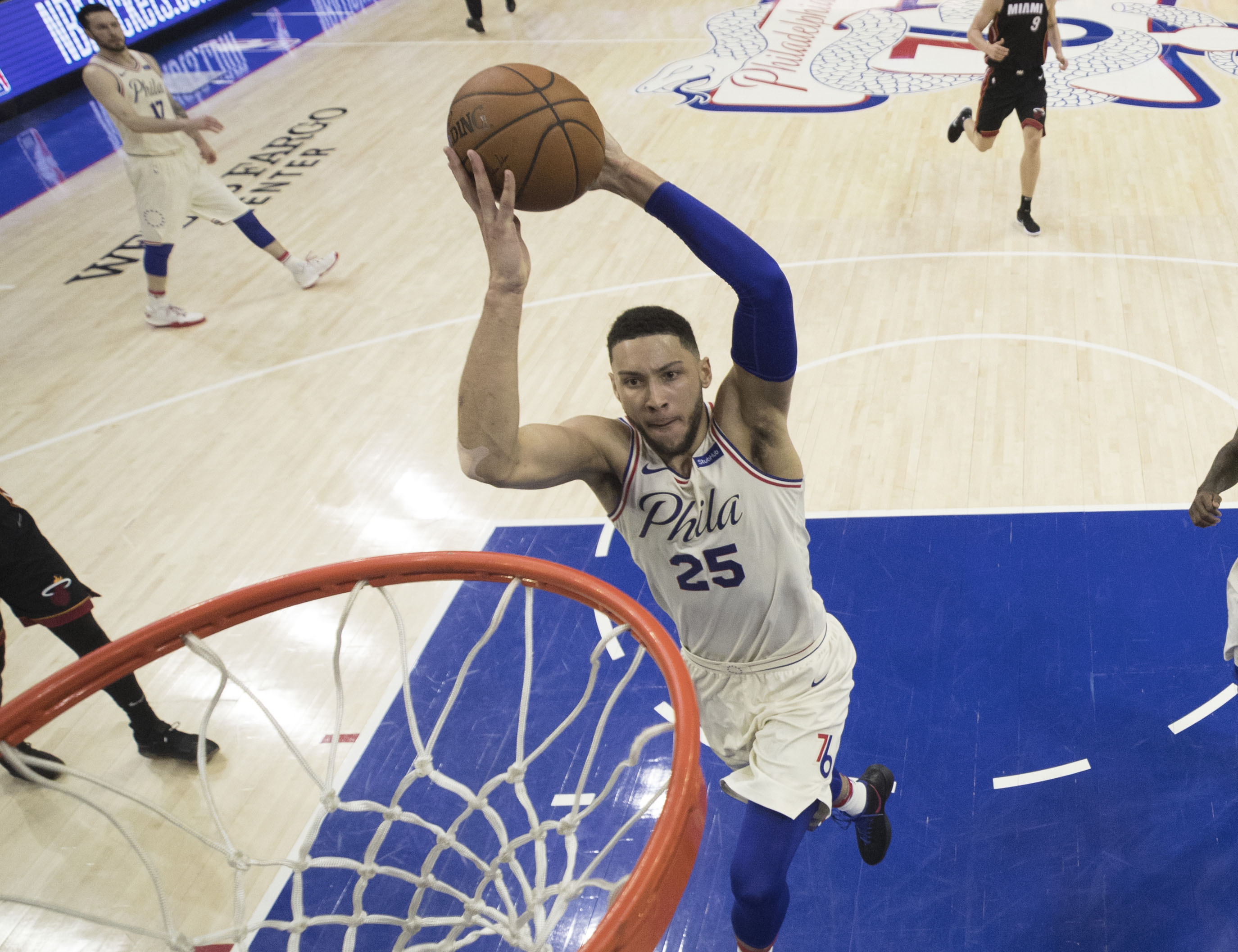 JJ Redick good to go for 76ers versus Heat in Game 1