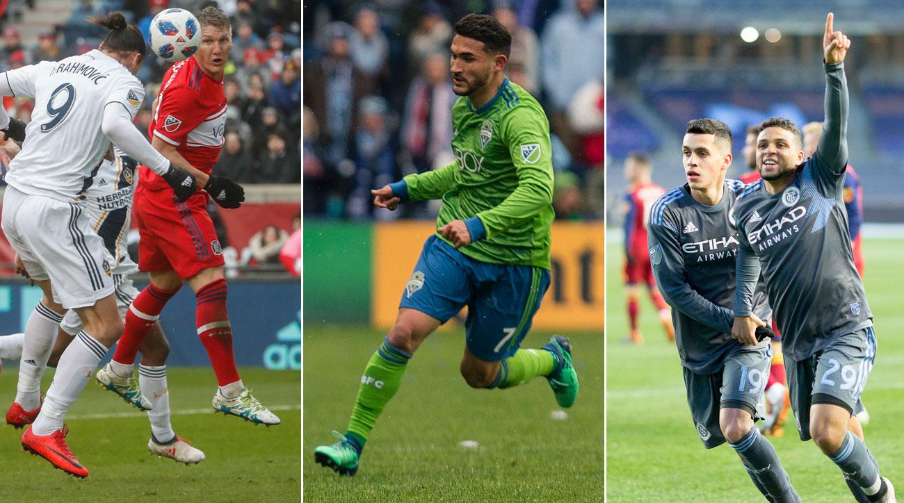 Zlatan Ibrahimovic, Cristian Roldan and NYCFC enjoyed fantastic weeks in MLS