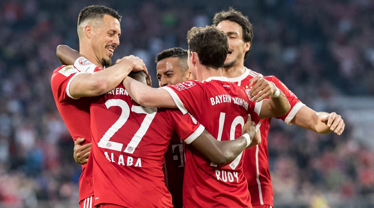 Bayern Munich plays Bayer Leverkusen in the DFB Pokal semifinals