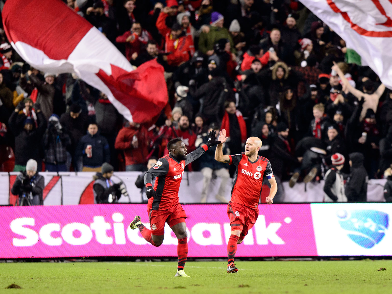 Jozy Altidore and Michael Bradley have led Toronto FC in the CCL