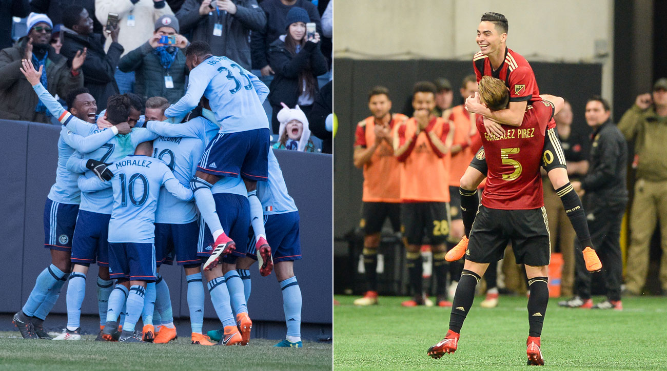 NYCFC and Atlanta United have emerged as contenders in MLS