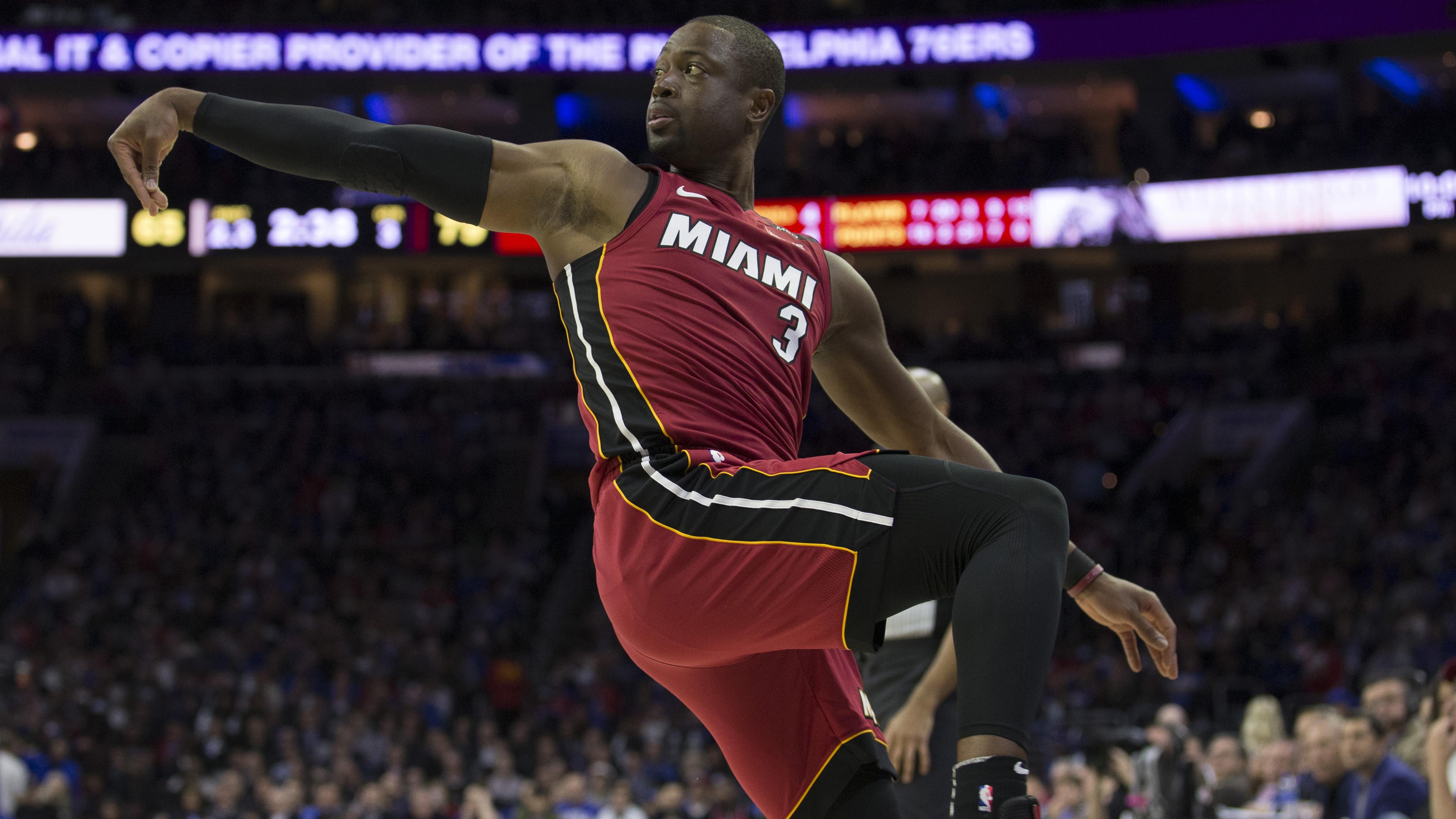 Dwyane Wade stats: Heat vs. Sixers Game 2 playoffs