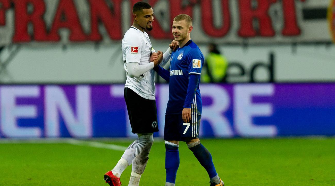 Schalke faces Eintracht Frankfurt in the DFB Pokal semifinals