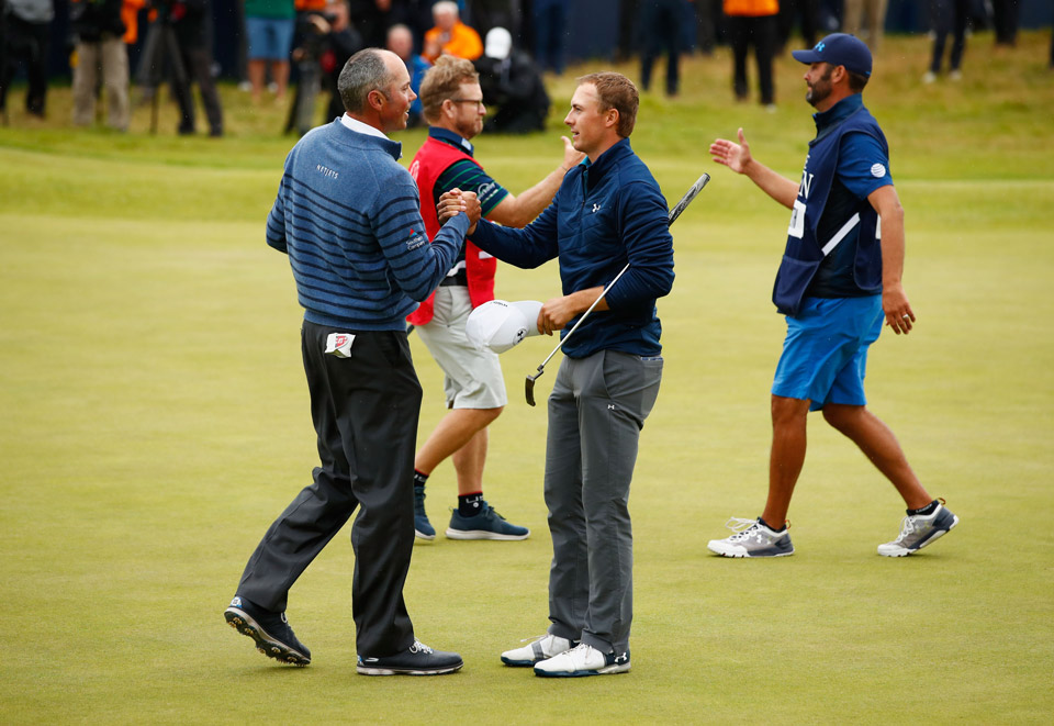 Kuchar was gracious in defeat at the 2017 British Open.