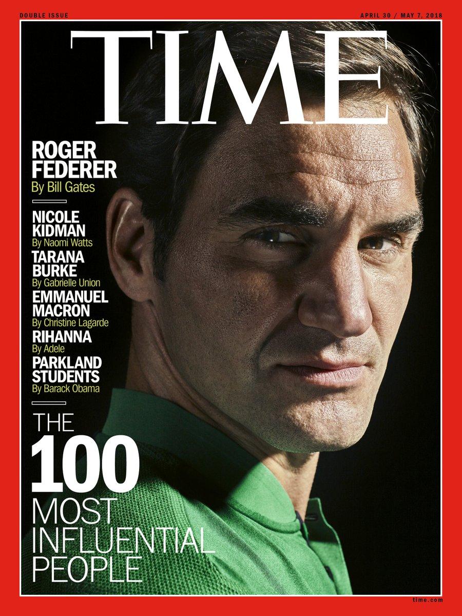 Roger Federer Cover Time Magazine