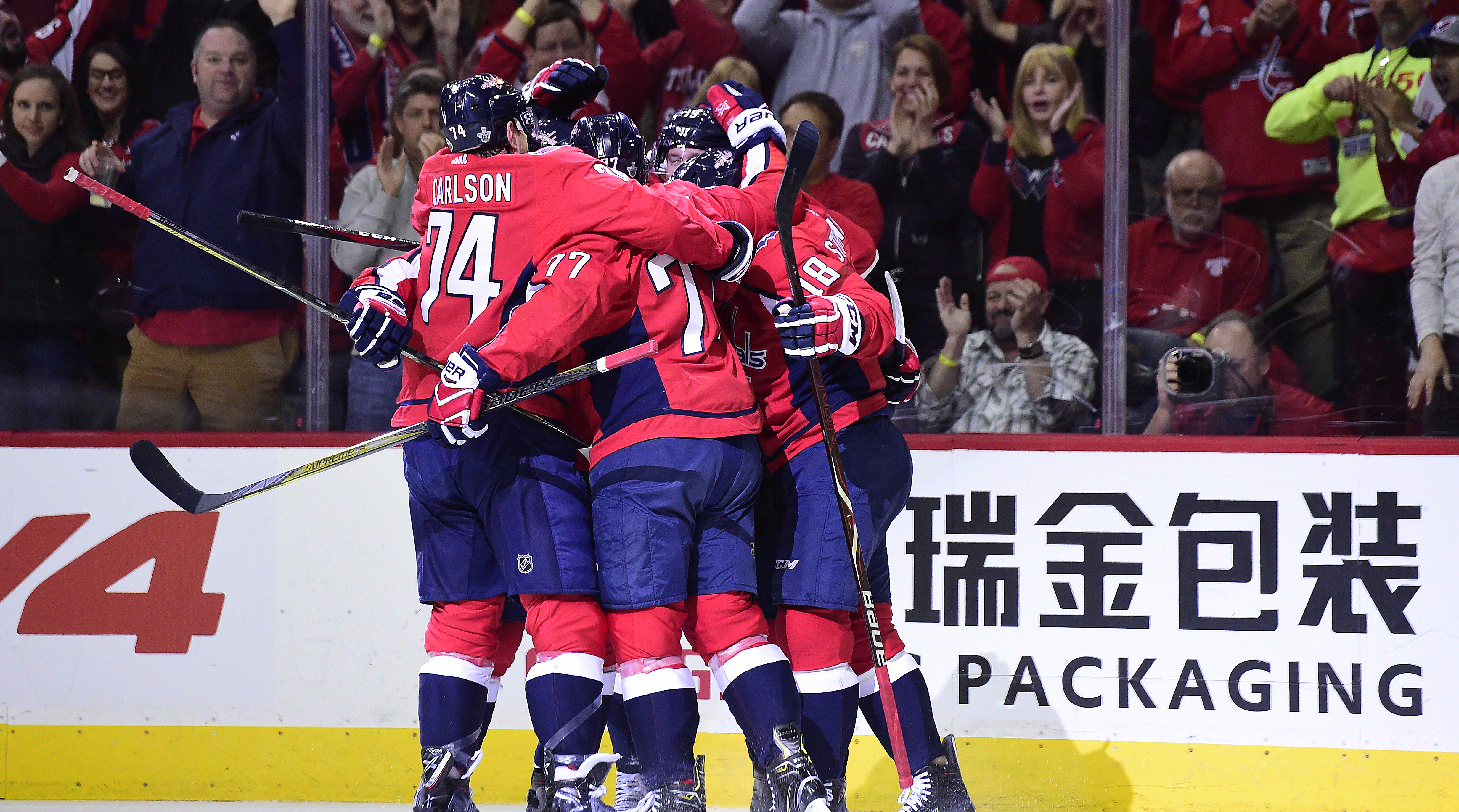 Despite an Uninspiring Third Period, Washington Finds a Way to Win Game 5 | Sports Illustrated
