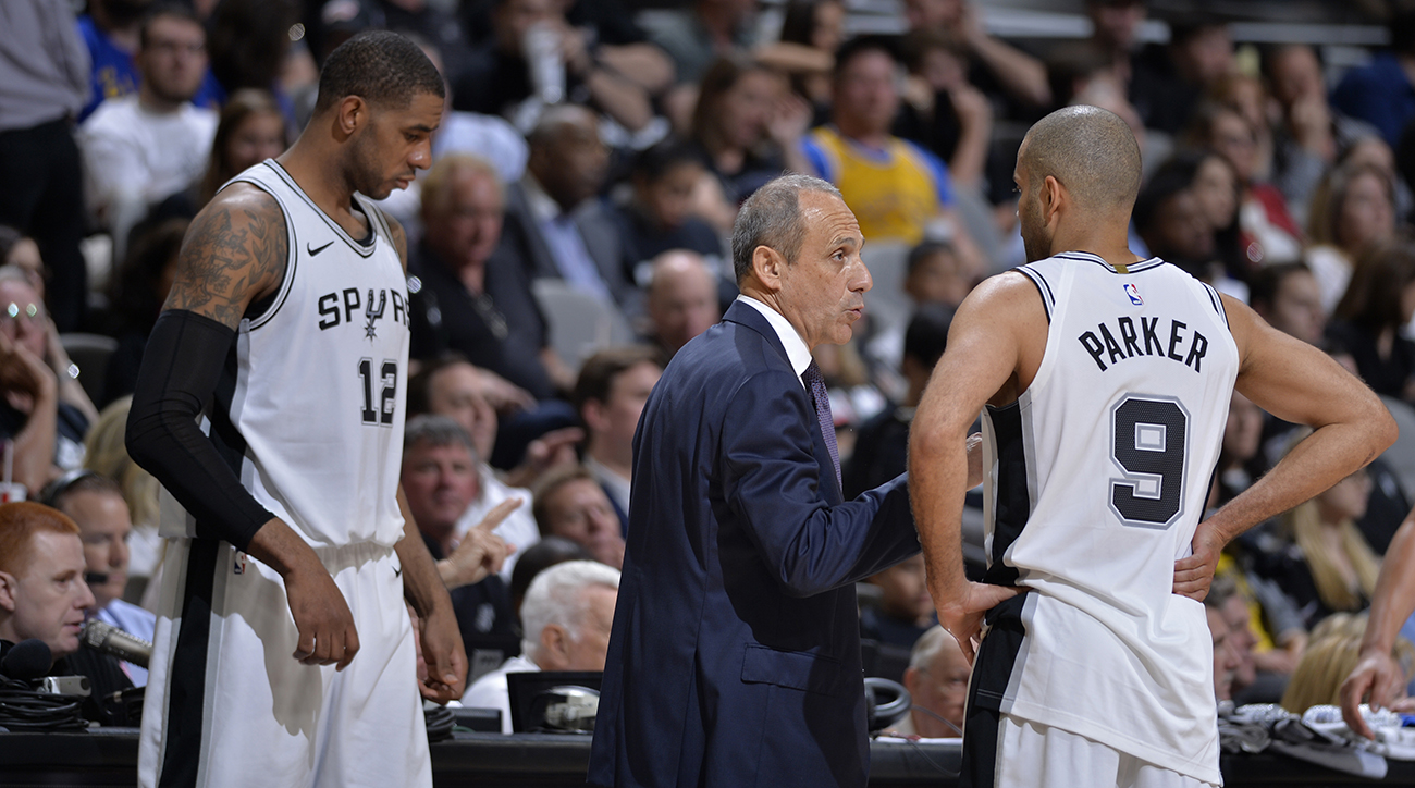 Gregg Popovich, gregg popovich wife death, gregg popovich assistant coach, ettore messina, nba playoffs, san antonio spurs, spurs head coach, spurs playoffs, spurs vs warriors, spurs game 4