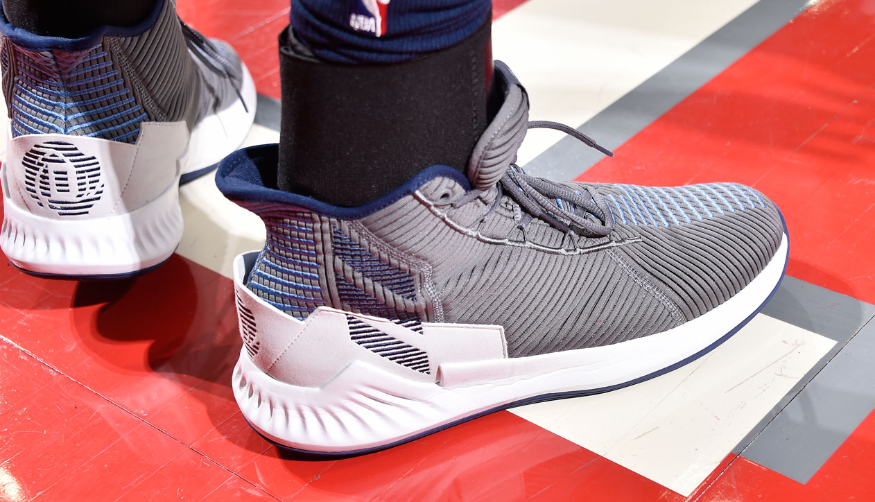 new product fad72 5e18d adidas D Rose 9 worn by Derrick Rose (Timberwolves)