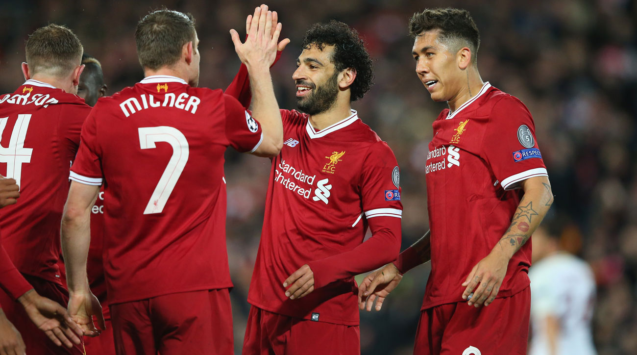 Liverpool beats Roma in the first leg of the Champions League semifinals