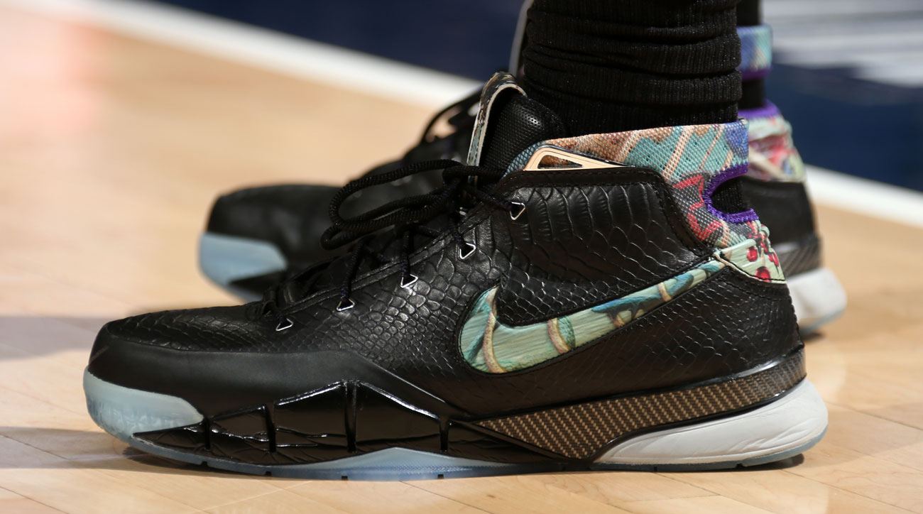5c3b579c812 Nike Zoom Kobe 1 worn by DeMar DeRozan (by Raptors)