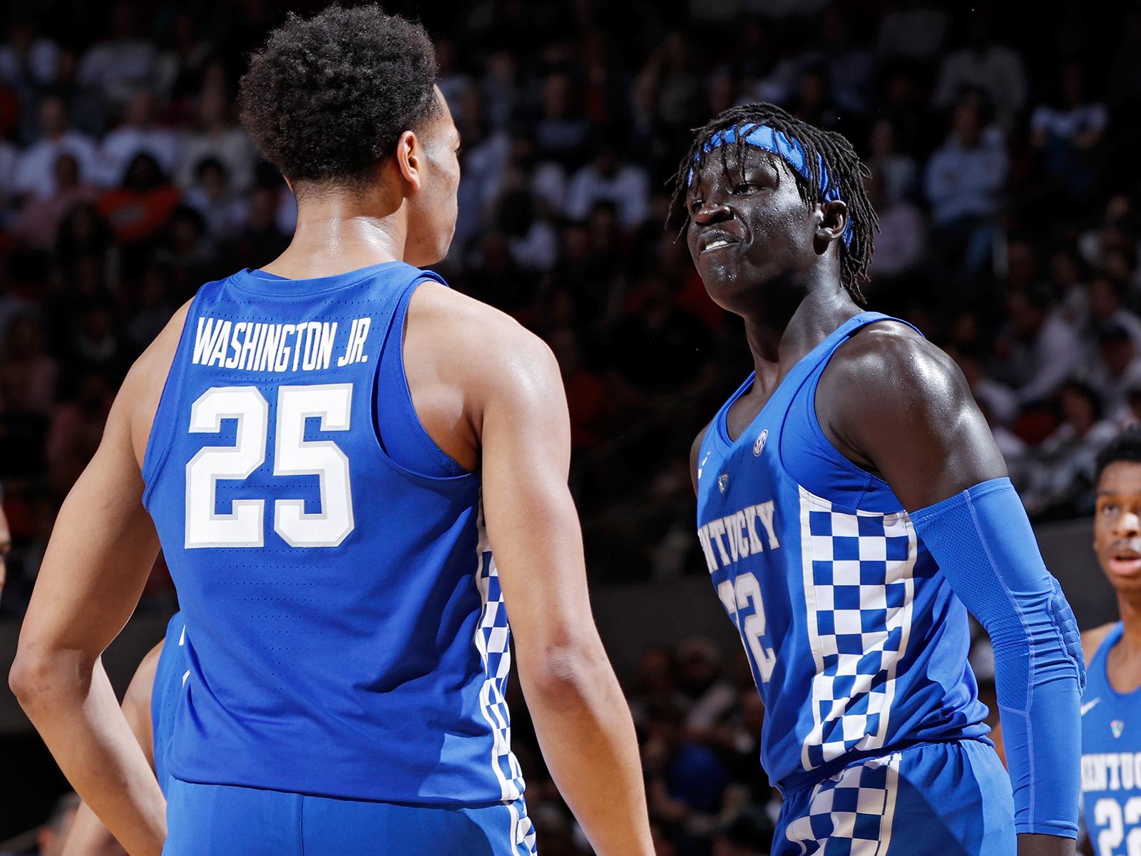 Kentucky v Auburn