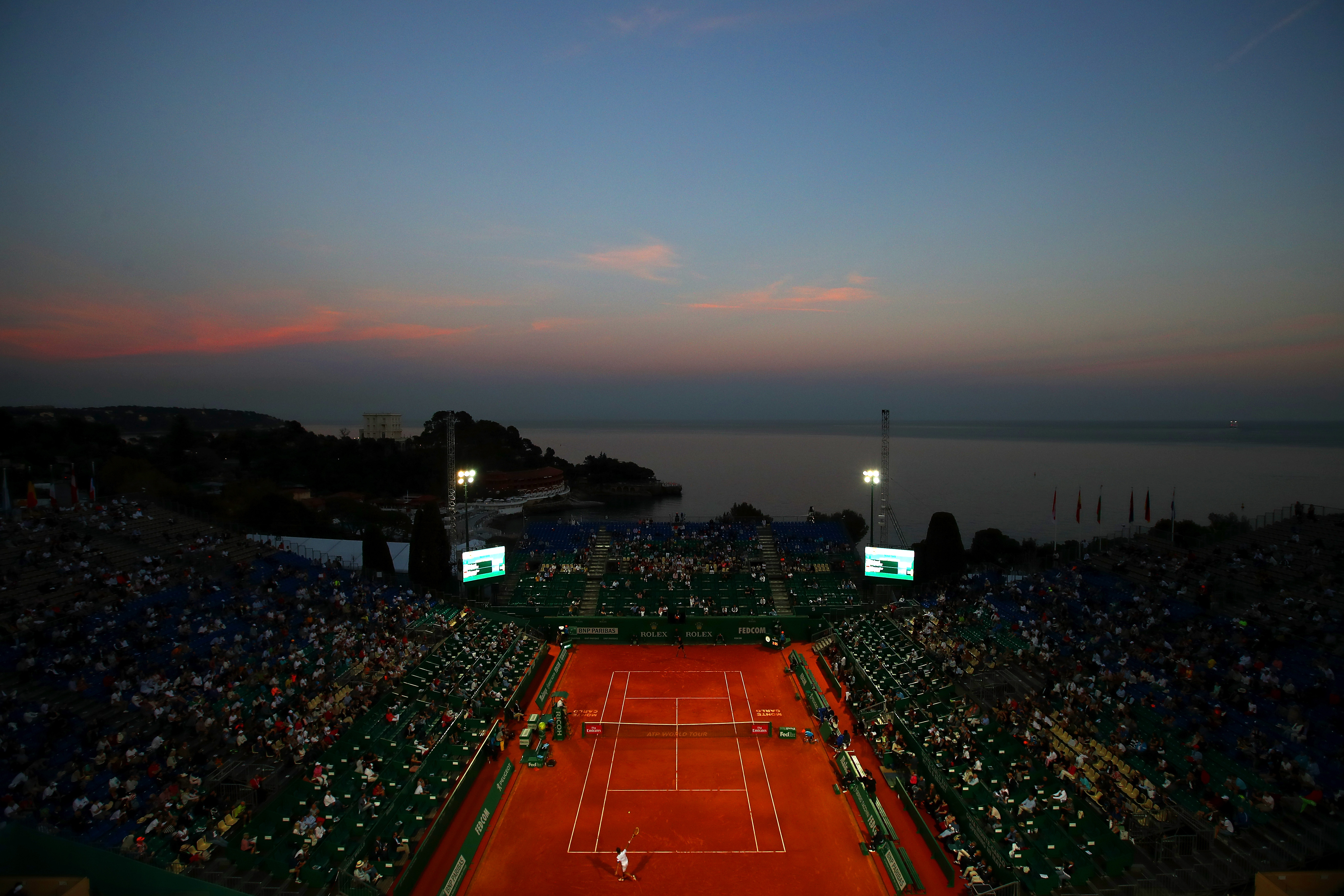 ATP Masters Series: Monte Carlo Rolex Masters - Day Six
