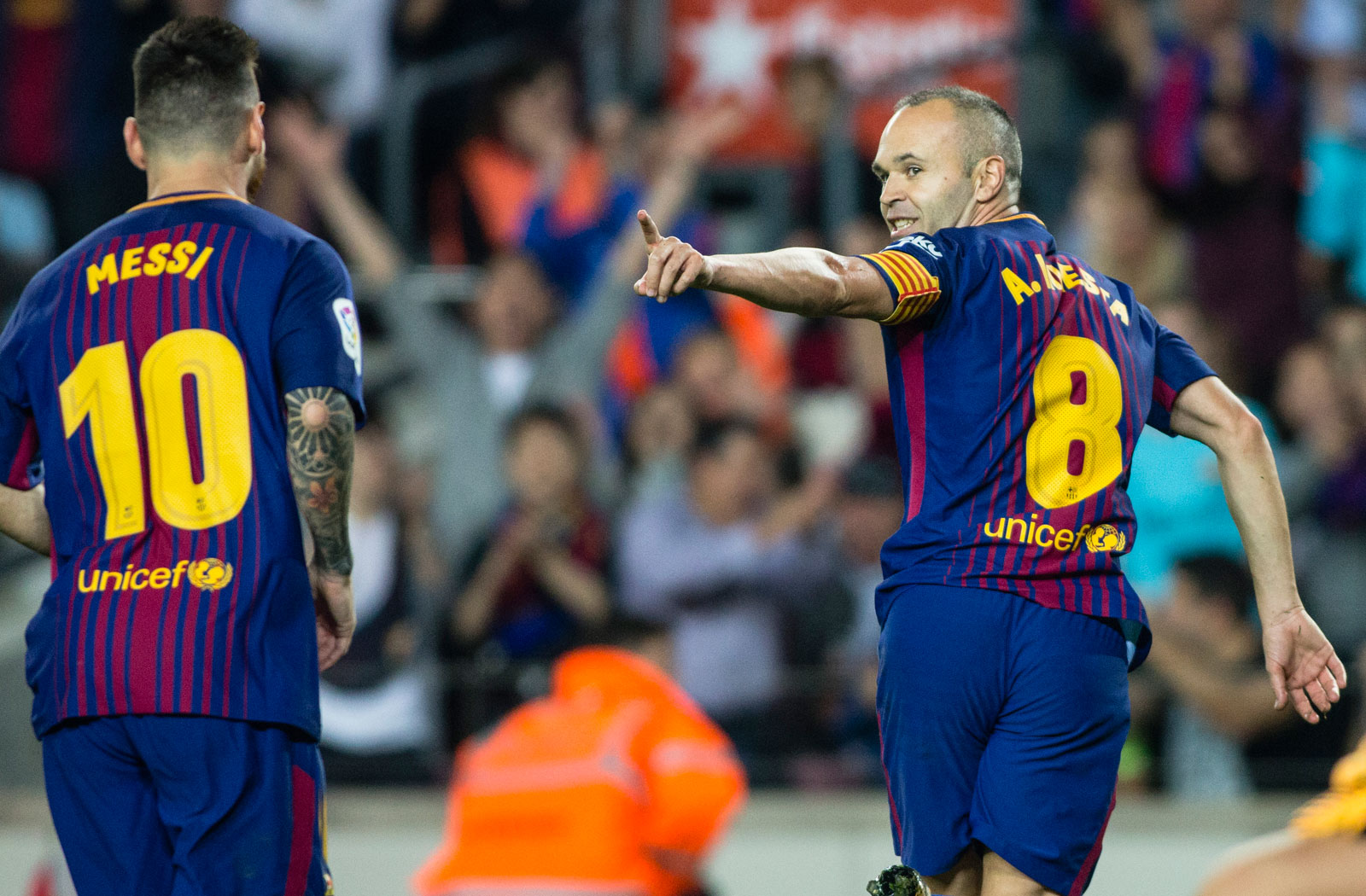 Andres Iniesta is set to end his Barcelona career