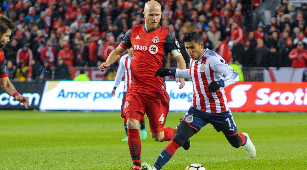 Toronto FC and Chivas Guadalajara play in the Concacaf Champions League final