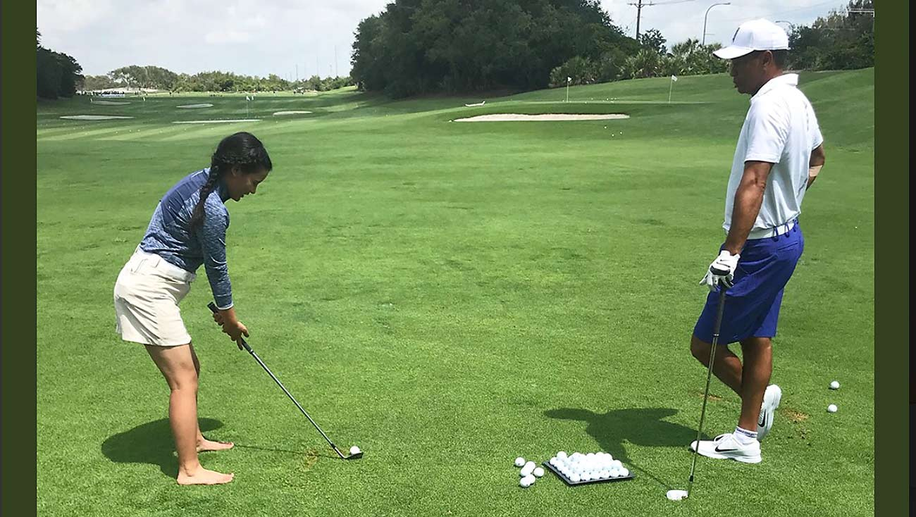 Tiger Woods, Pratima Sherpa