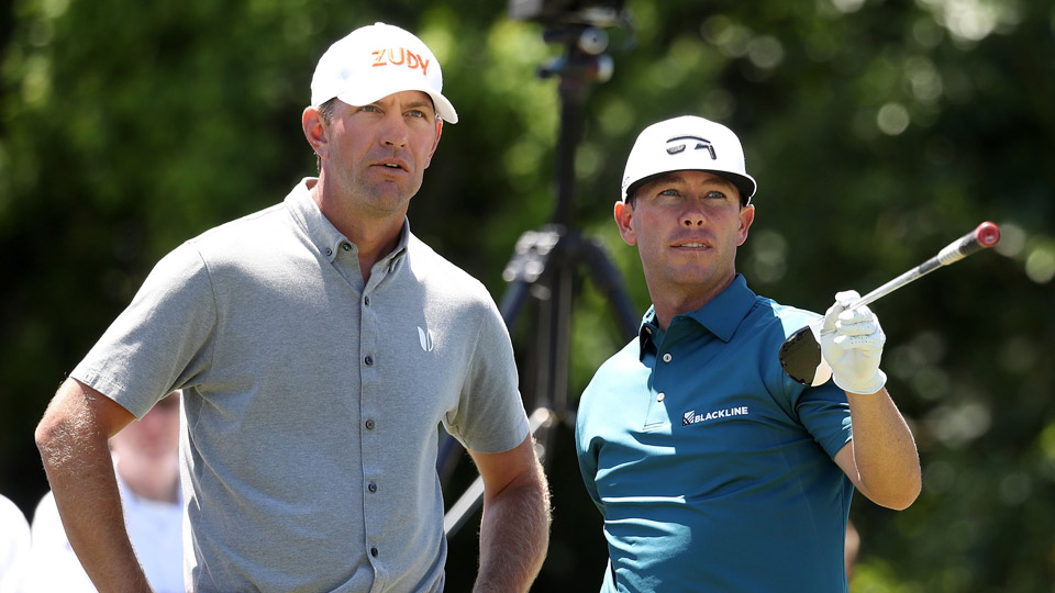 Chez Reavie and Lucas Glover teamed to shoot a 12-under 60 on Thursday for a share of the Zurich Classic lead with China's Zhang Xinjun and Dou Zecheng.