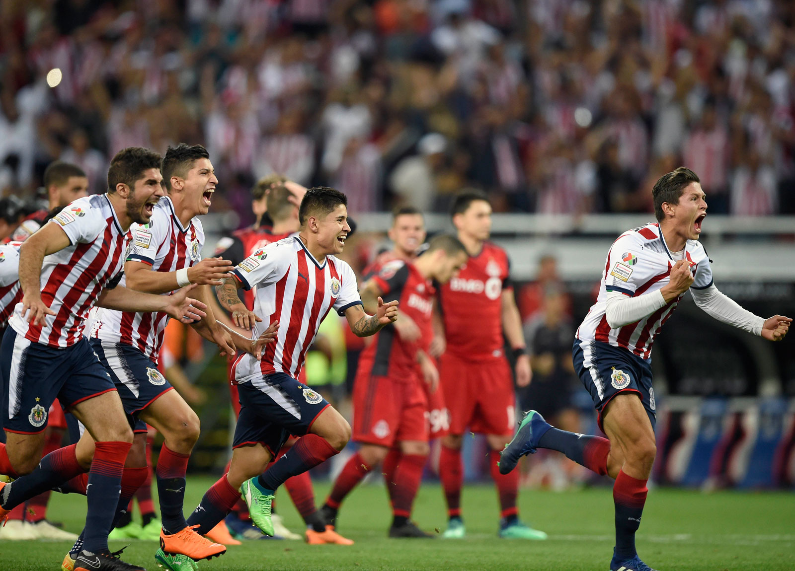 Chivas wins the 2018 CCL title on penalty kicks