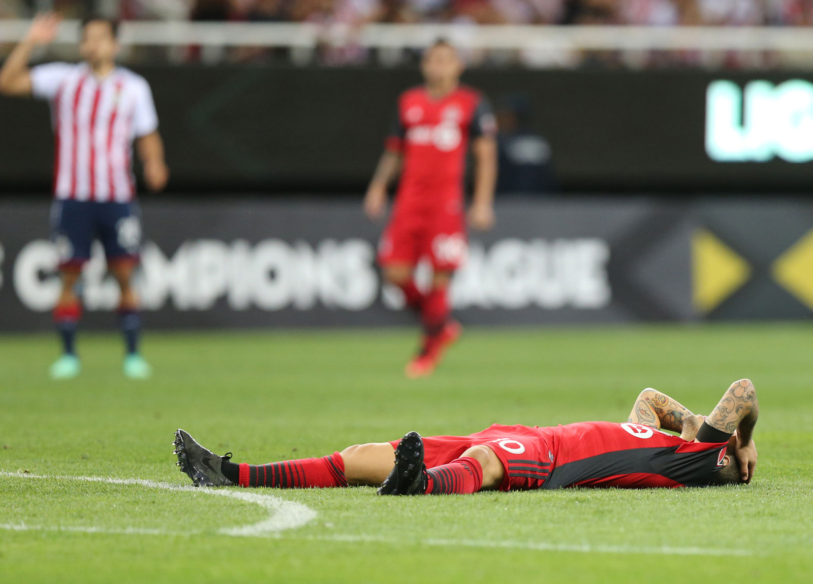 Toronto FC loses in the CCL final to Chivas