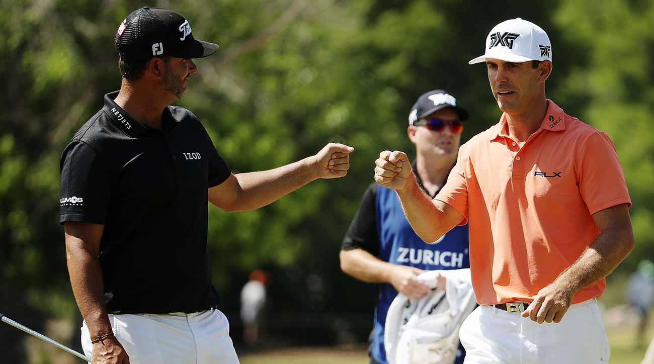 Cautious Gooch gets past 'gator at Zurich Classic