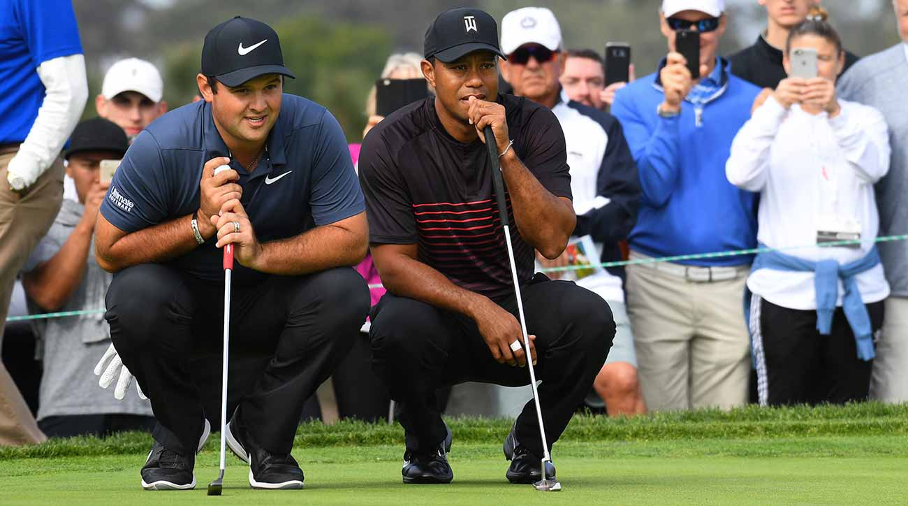 Parick Reed, Tiger Woods and Brooks Koepka will play alongside each other for the first two rounds in Charlotte.